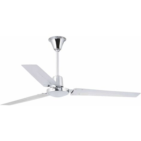 Faro Indus - Large Ceiling Fan Without Light White