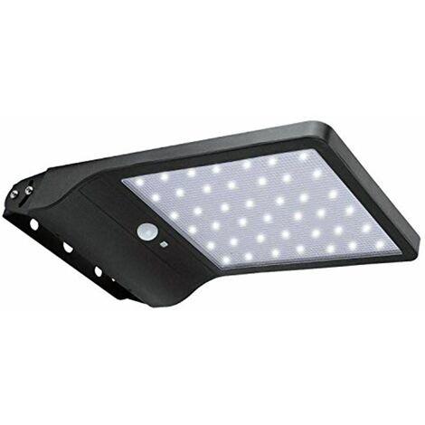 Faro lampione led 20w luce fredda pannello solare sensore movimento JD-1920