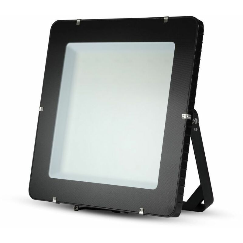 Faro LED Chip Samsung 1000W 120LM/W Colore Nero 6400K IP65 - V-tac
