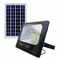 Faro led energia solare smd 70w pannello crepuscolare esterno telecomando DR