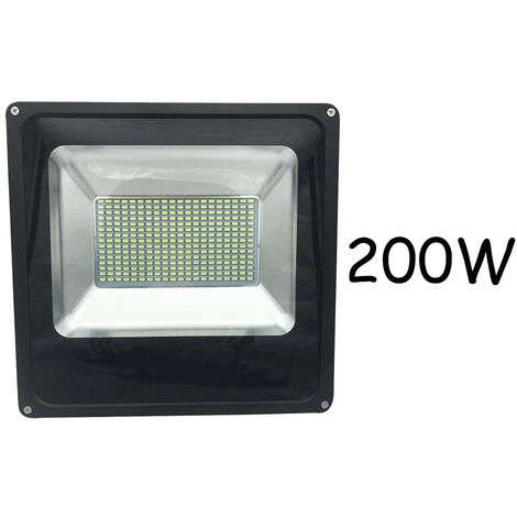 Faro led esterno 200 w luce fredda faretti led ip66 foyu 38078 for Faretti led da esterno