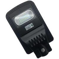 Faro led lampione stradale 30 w luce fredda energia solare crepuscolare F05930