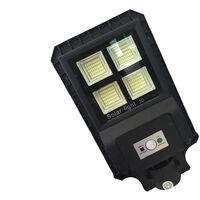 Faro led lampione stradale 60w luce fredda pannello solare crepuscolare 9960FOYU