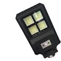 Faro led lampione stradale 90 w luce fredda pannello solare crepuscolare 9990 dr