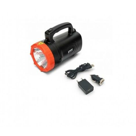 Faro led ricaricabile 1w dr light portatile ir551led
