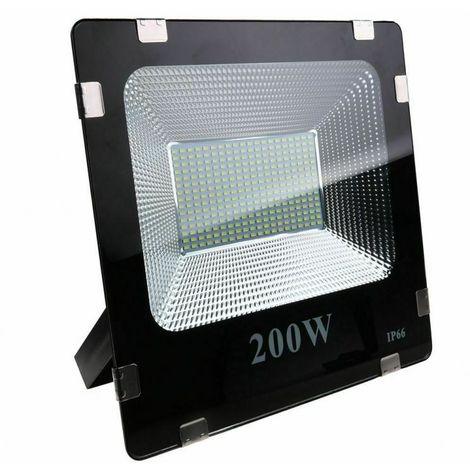 FARO LED 200W PER ESTERNO CON 800 LED LUCE BIANCA SMD IP 66 ALTA LUMINOSITA/'