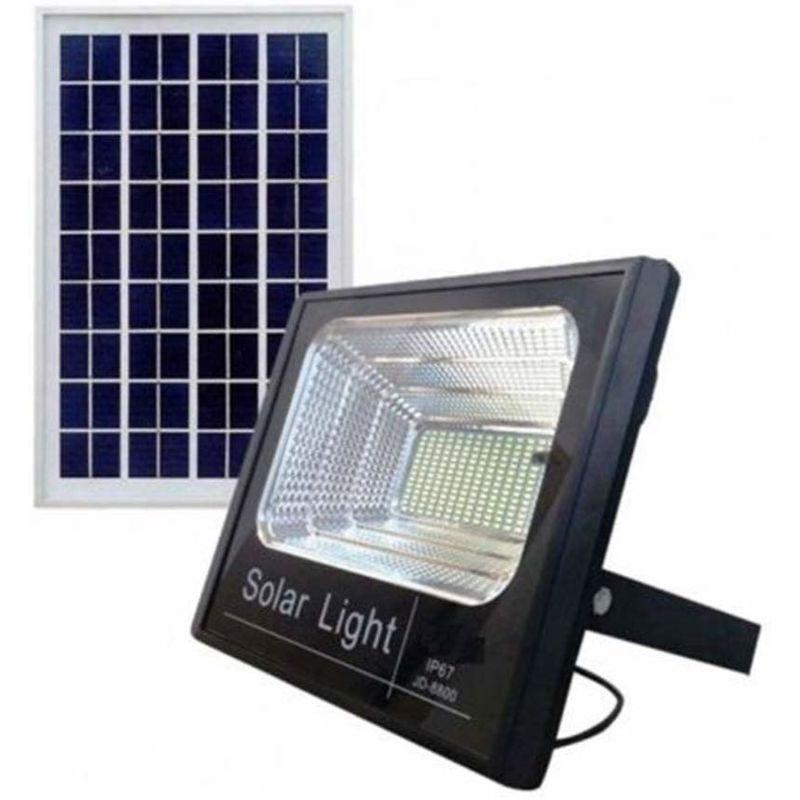 Faro Led Smd 40 W Watt Pannello Solare Energia Crepuscolare Telecomando