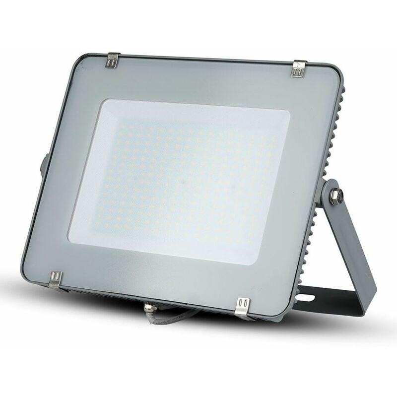 Faro LED SMD Chip Samsung 300W Colore Grigio 6400K IP65 - V-tac