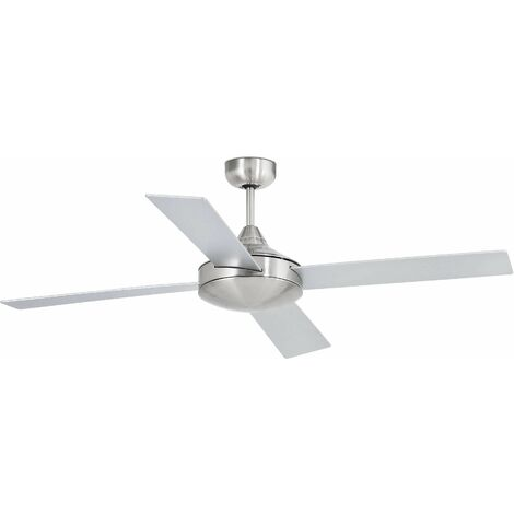 Faro Mallorca - Large Ceiling Fan Without Light White, Maple