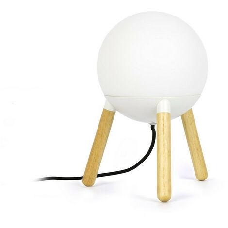 Faro MINE - Floor Lamp Tripod White, E27
