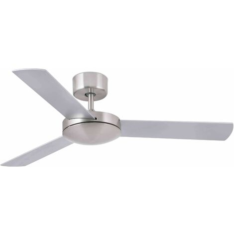 Faro Mini - Small Ceiling Fan Without Light White, Maple