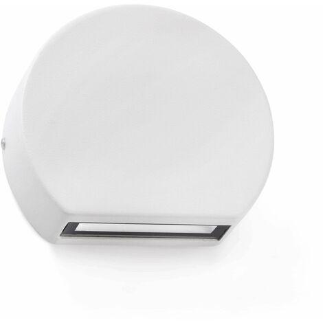 Faro Pill - LED Outdoor Wall Light White IP54