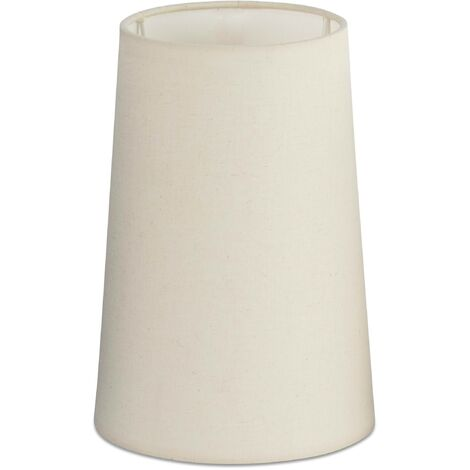 """main image of """"Faro - Round White Shade - For Rem Wall and Tall Table Lamps"""""""
