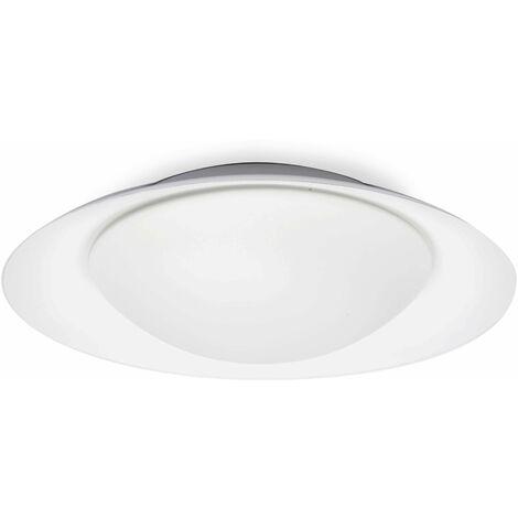 Faro Side - LED Indoor Medium Flush Wall Light White