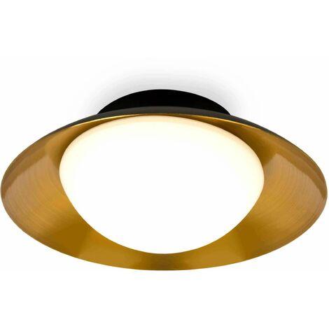 Faro Side - Led White Flush Ceiling Lamp G9