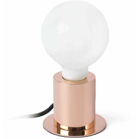 Faro Ten - 1 Light Table Globe Lamp Copper, E27