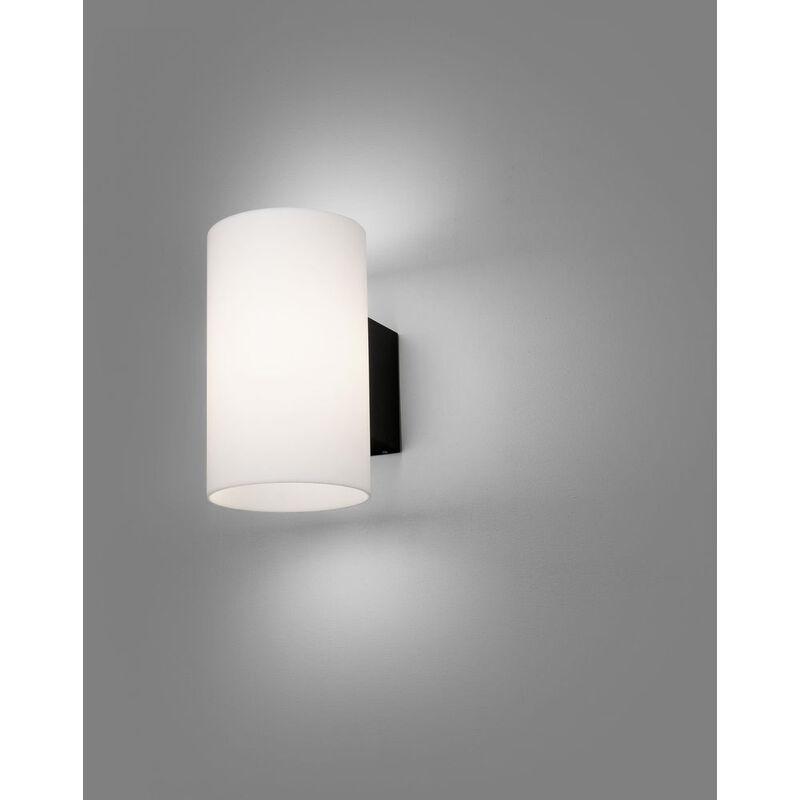 LED Außenwandleuchte Lur in Grau und Weiß