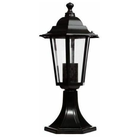 Farol de jardín sobremuro E27 LED 350x190 mm GSC 0700076