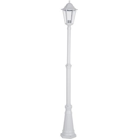 Farola Exterior Blanca 180Cm 100W E27 - CZ - C2-0094