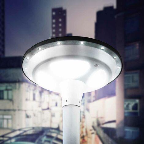 Farola LED Solar Fotovoltaica Jardín Parque SQUARE