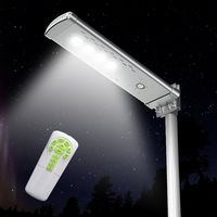 Farola Solar Calle LED 3000 lm con mando a distancia SMART OPTIUM