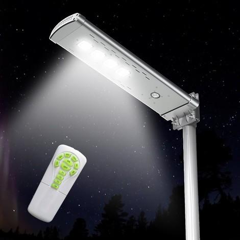 Farola Solar para exterior Calle LED 3000 lumens con mando a distancia SMART OPTIUM