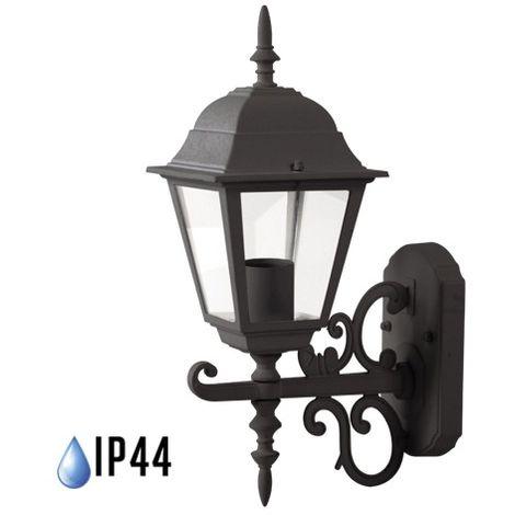 Farolillo de pared Classic Lite para bombilla LED E27 IP44 Blanco