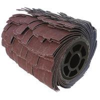 FARTOOLS Brosse a lanieres abrasives pour rénovateur- Ø 120 mm - Alésage 20 mm