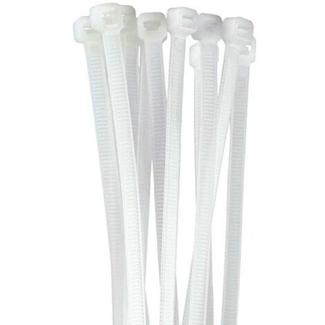Fascette in plastica bianca per naso LANSCOERY pieghevoli fai da te ponte nasale