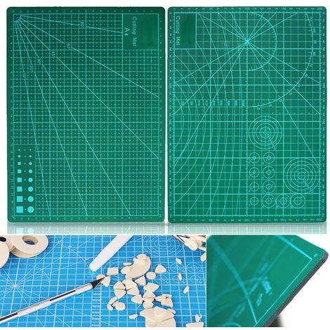 Fashion Double Sided Green Cutting Mattress Board A4 Size Pad Model Healing Model Design Crafts Tool Hasaki