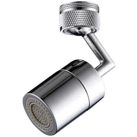 """main image of """"Faucet Sink Aerator Female Thread 360-Degree Swivel Faucet Aerator Dual Sprayer Bathroom Kitchen Sink Rotating Faucet Male Aerator Water Saving Copper Replacement Part"""""""