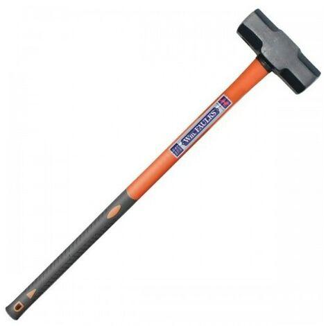 Faulks 145/14/FBR Sledge Hammer 14lb with Fibreglass Handle