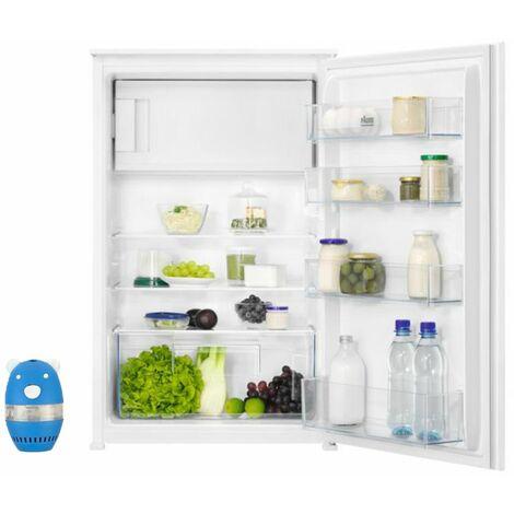 FAURE Réfrigérateur frigo simple porte intégrable 123L Froid statique Dégivrage Auto