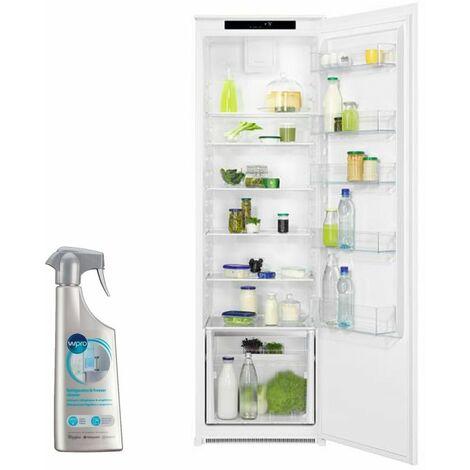 FAURE Réfrigérateur Frigo simple porte intégrable 310L Froid brassé DynamicAir