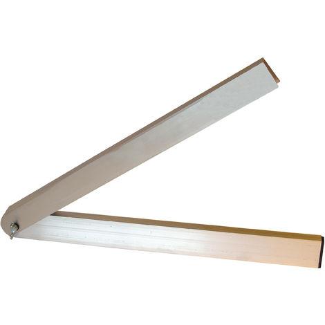 Fausse équerre aluminium 50 cm - Mob/Mondelin