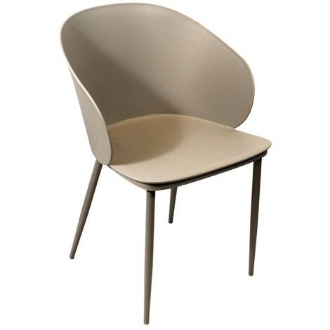Fauteuil Alison - Taupe