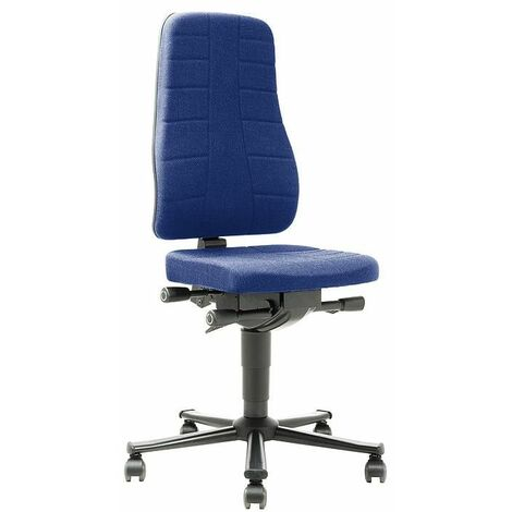 Fauteuil BIMOS All-In-One Highline avec 2 roulettes, bleue