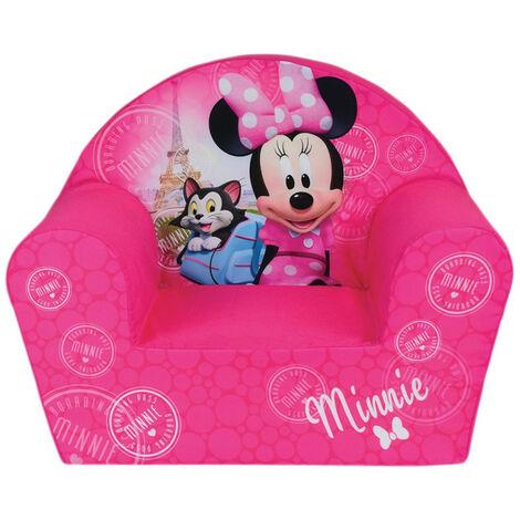 Fauteuil Club mousse Minnie Mouse Paris Disney