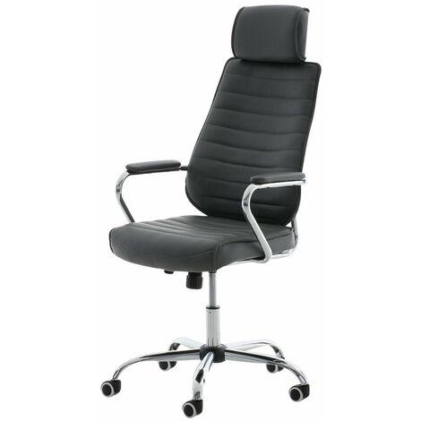 Lot de 5 roulettes pivotantes noir fauteuil de bureau 50 mm tige 11x22 mm