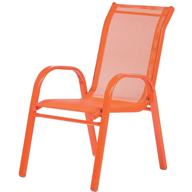 Ozalide - Fauteuil de jardin enfant Little - Orange - Orange