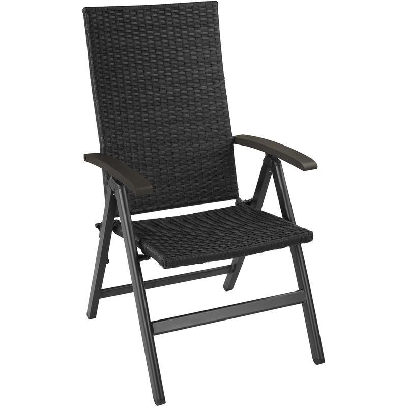 Fauteuil de jardin pliable MELBOURNE chaise de jardin, fauteuil exterieur, chaise exterieur