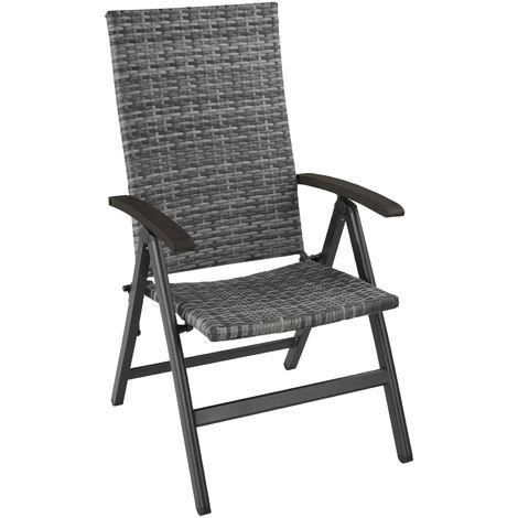Fauteuil de jardin pliable MELBOURNE - chaise de jardin, fauteuil exterieur, chaise exterieur