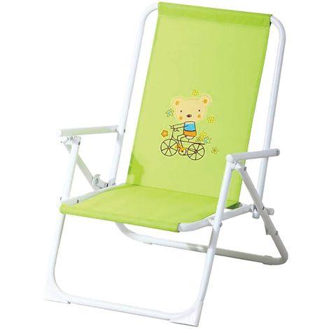 Fauteuil de jardin relax enfant Piccolo - Vert anis - Vert anis