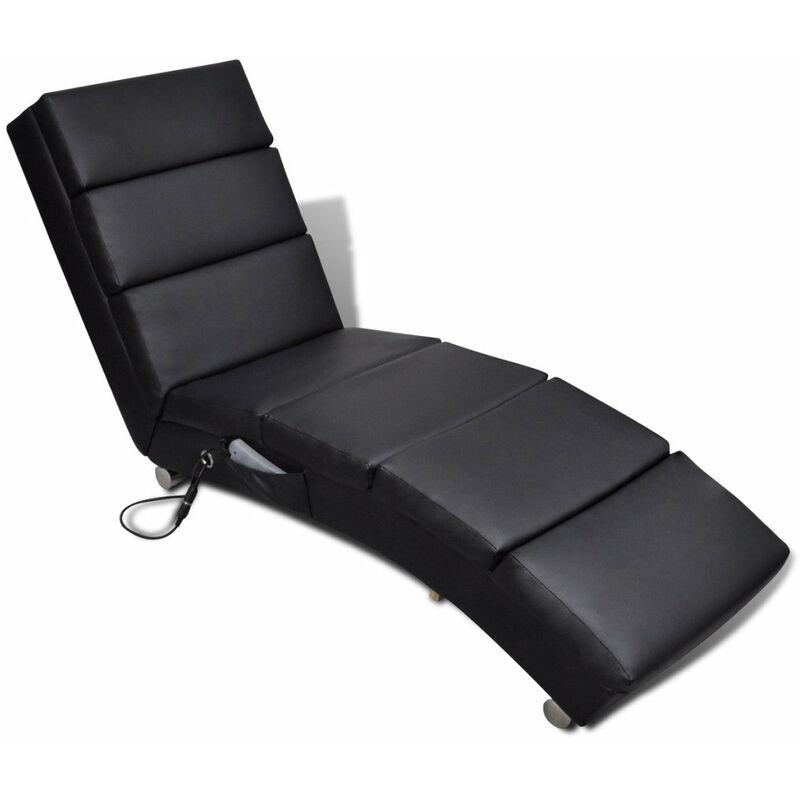 Helloshop26 - Fauteuil de massage chaise de relaxation électrique