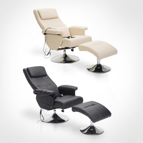 prix compétitif 9578e 348df Fauteuil de massage et relaxation électrique chauffant ...