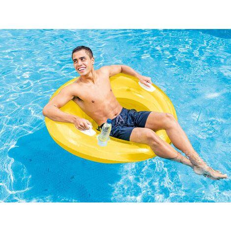 Fauteuil de piscine Sit 'N Lounge Jaune - Intex