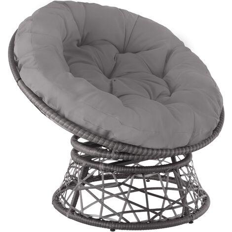 Fauteuil papasan GARGANO - chaise papasan, meuble de jardin, mobilier de jardin
