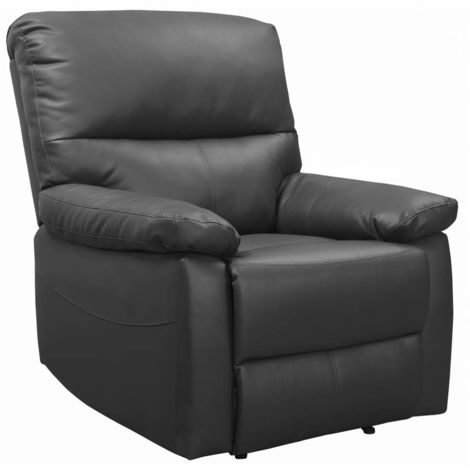 "Fauteuil relax ""Lincoln"" - 90 x 89 x 103 cm - Gris"