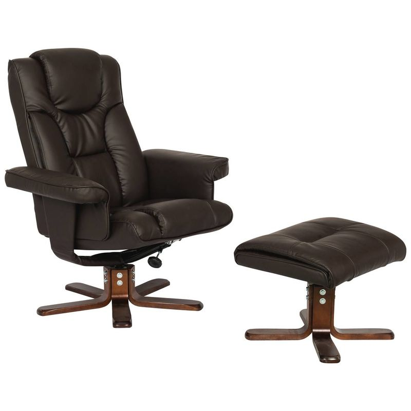 Fauteuil relax + repose pieds