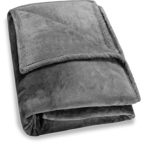 """main image of """"Faux Fur Throws Fleece Blanket Soft Sofa Bed Large King Size Warm Double Cover"""""""